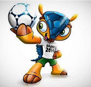 Fuleco. Mascota Brasil 2014